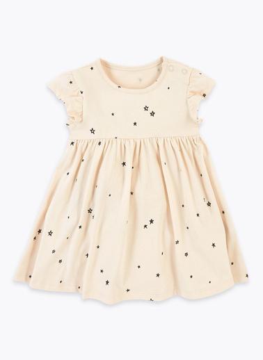 Marks & Spencer Elbise Ekru